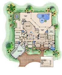 one story courtyard home plans eplans mediterranean house plan