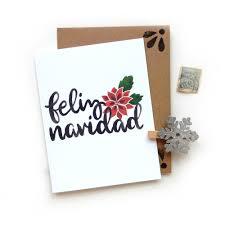 feliz navidad christmas card cards tags sketchy notions