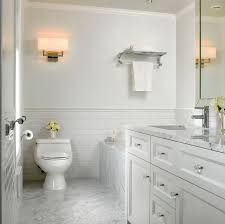 bathrooms with subway tile ideas beveled tile beveled subway tile westside tile and