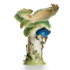 Franz Butterfly Vase Franz Porcelain Homebello