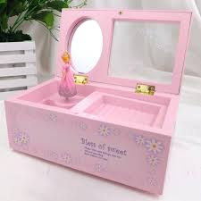 Childrens Music Boxes Lovely Music Box Childrens Musical Jewellery Box Rectangle