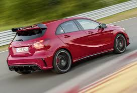 mercedes a class 45 amg 2016 mercedes amg a45 regains title of most powerful and fastest