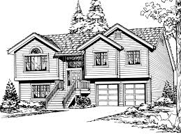 split entry house plans sagemeadow split level home plan 071d 0244 house plans and more