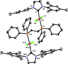 dinuclear nhc u2013palladium complexes containing phosphine spacers
