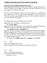 least common multiple worksheets multiplication printouts