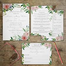 vintage garden wedding invitations by gray starling designs