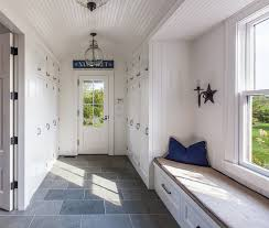 beachside mudroom slate floors lots of shiplap beadboard