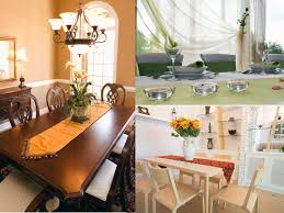 how to decorate a dining table dining room houses fall ideas runner christmas indoor orate