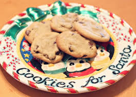 cookies for santa plate for santa cookie plate