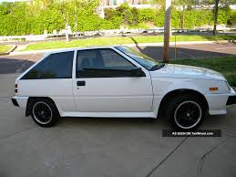 mitsubishi colt turbo 1988 dodge colt information and photos momentcar