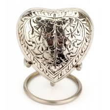 ashes keepsake heart keepsake banbury nickel heart uu410001l token ashes