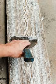 how to distress wood 15 diy ideas to distress wood for look 2018
