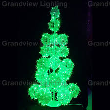 outdoor colorful large led decoration tree light for