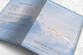 paper for funeral programs funeral program template with white dove freedom in heaven