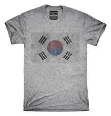 South Korea Flag Retro Vintage South Korea Flag T Shirt Hoodie Tank Top U2013 Chummy Tees
