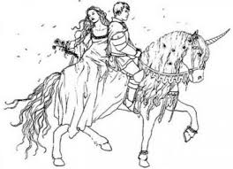 princess and horse coloring pages eson me