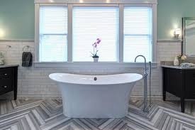 small bathroom floor tile ideas 15 simply chic bathroom tile design ideas hgtv