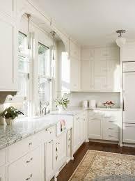 White Kitchen Cabinets With Black Hardware Satin Nickel White Kitchen Everything About This Ki On