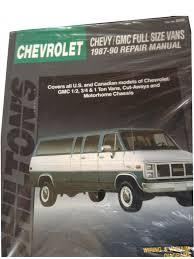 chevy gmc full size vans 1987 90 repair manual chilton u0027s total
