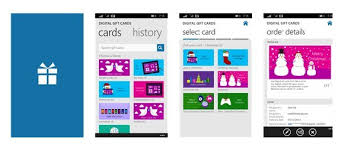 digital gift cards digital gift cards for xbox and windows stores with this new app