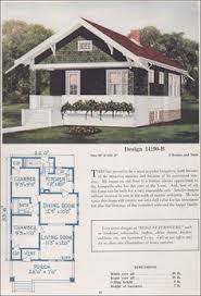 floor plans for cottages and bungalows design 12849 b 1925 c l bowes co by 1925 some streamlining of