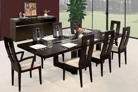 modern black dining room sets black dining room table sets trellischicago