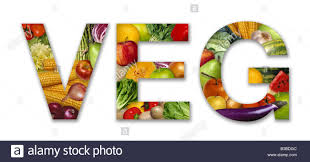 veg word set with fruit and vegetables stock photo royalty free