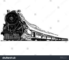 steam clipart steam locomotive pencil and in color steam clipart