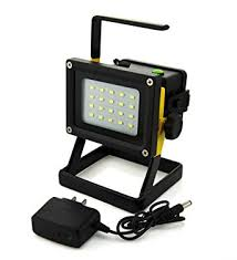 battery powered portable led work lights windfire portable rechargeable cordless 20 leds 30w 2400lm cree xm