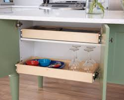 Slide Out Shelves by Diy Pull Out Kitchen And Sliding Pantry Kits Miracle Shelves