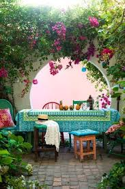 Patio Design Ideas For Your Beautiful Garden Hupehome by Best 25 Mediterranean Outdoor Benches Ideas On Pinterest