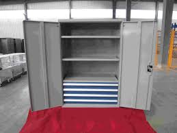 Metal Storage Cabinet With Doors by Metal Storage Cabinets With Doors And Shelves Used Solution To