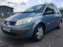 renault scenic 2005 7 seater used renault grand scenic dynamique 1 6 cars for sale motors co uk