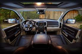 Dodge Ram Interior - ram adds new u201crv match brown u201d two tone to laramie longhorn