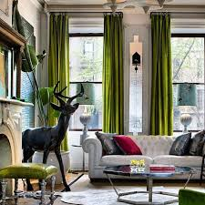 Green And Gray Curtains Ideas Living Room Design Green Home Interior Design Ideas Cheap Wow