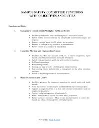 sample safety program health and safety program template program