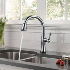 delta touch2o kitchen faucet delta cassidy single handle pull kitchen faucet with touch2o
