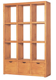 Unfinished Bookshelf Large Wooden Bookcases Solid Wood Bookshelves Open Back