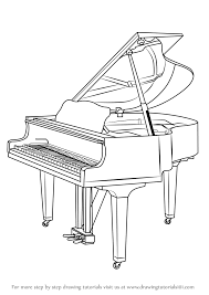 ad un piano learn how to draw a grand piano musical instruments step by step