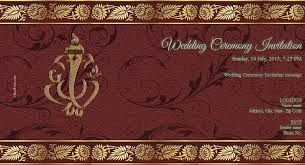 wedding cards in india free wedding india invitation card online invitations