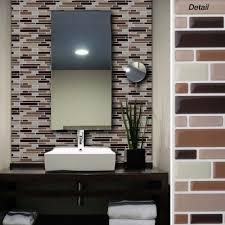 Kitchen Backsplash Stick On Tiles Interior Black Kitchen Backsplash Incredible Self Adhesive