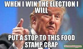 I Will Win Meme - when i win the election i will put a stop to this food st crap