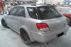 subaru wagon video twin turbo ls1 swapped wide body wrx wagon