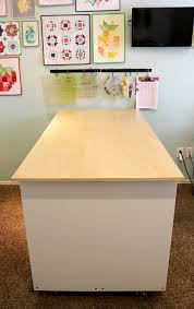 sewing cutting table ikea a bright corner diy sewing room cutting table ikea hack