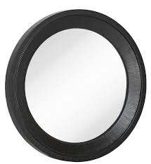 circular wood wall black with wood grain circular glass shaped hanging