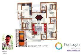 1424 sq ft 3bhk kerala home design