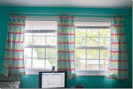 double window treatments craft room curtains i heart planners