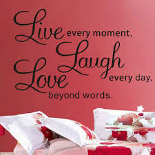 shop live laugh love wall quotes on wanelo