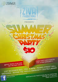 zumba summer christmas party 2011 with ziva productions ltd mlw