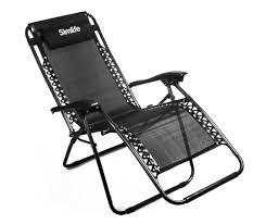 Zero Gravity Patio Chairs by Simlife Zero Gravity Chairs Lounge Patio Chairs Black Patio
